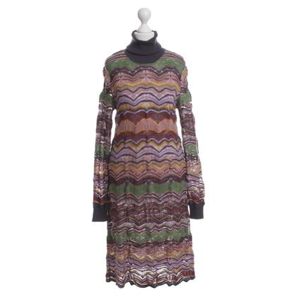 Missoni Knit dress with roll dress