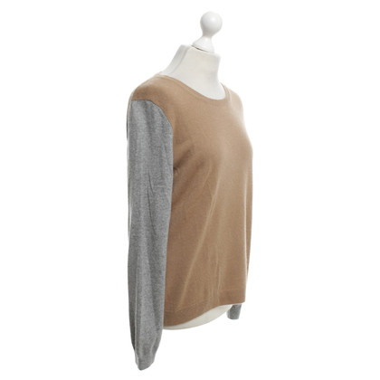 Hugo Boss Cashmere Sweater in Brown / grey