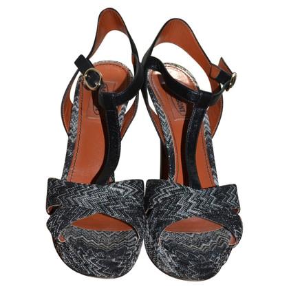 Missoni fancy sandals