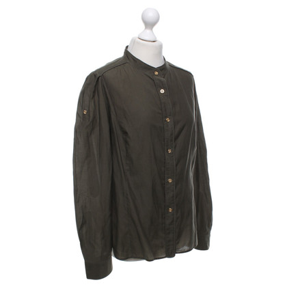 Burberry Shirt blouse in olive green