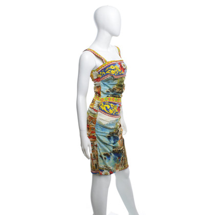 Dolce & Gabbana Robe avec majolique Imprimer