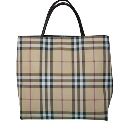 Burberry Tote Bag Nova check patroon