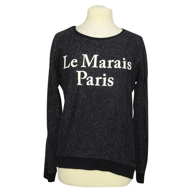Maison Scotch Sweater with print ...