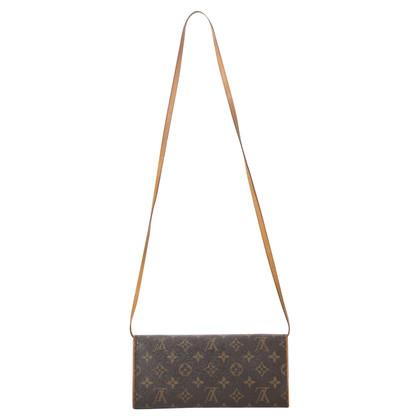 "Louis Vuitton ""Twin Pochette MM Monogram Canvas"""