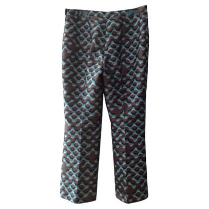 Prada Pantaloni con motivo