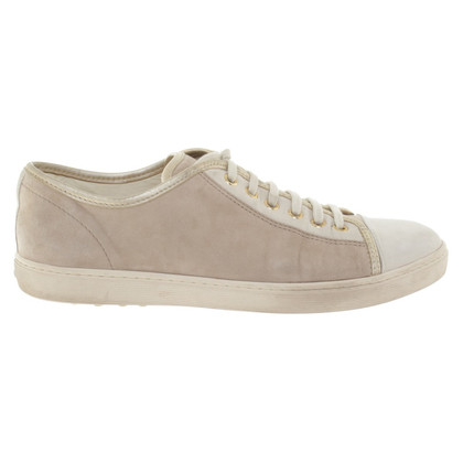 Tod's Suede leather sneakers in beige