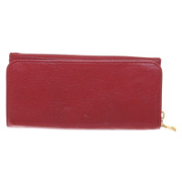 Miu Miu Wallet in red