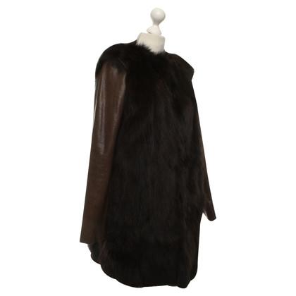 Coast Weber Ahaus cappotto di pelliccia di volpe