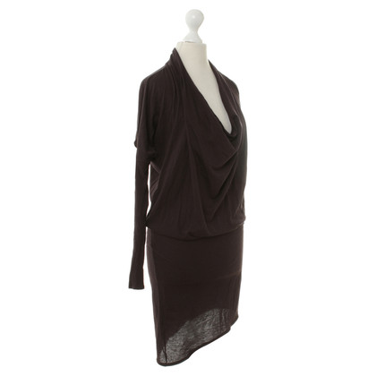 Helmut Lang Auberginefarbenes dress