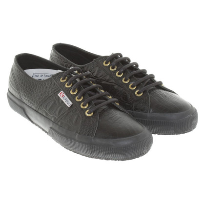 Superga Lace-up shoes in black