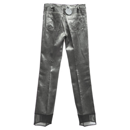 Christian Dior Jeans with tulle hem