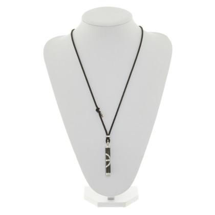 Armani Chain in black / silver
