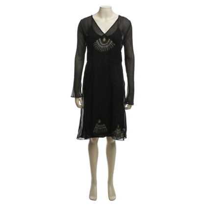 Day Birger & Mikkelsen Silk dress in black