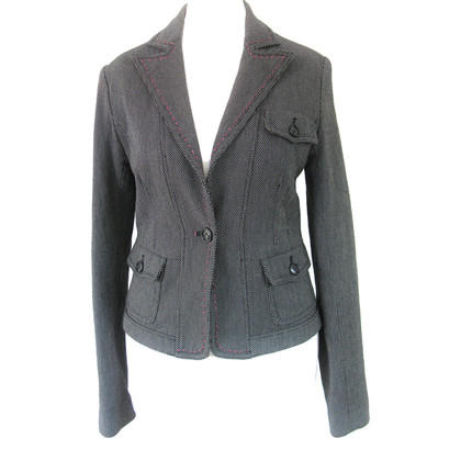 Closed Blazer in black and white