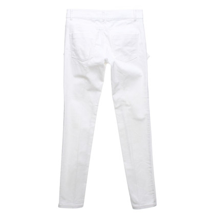 Moschino trousers in cream-white
