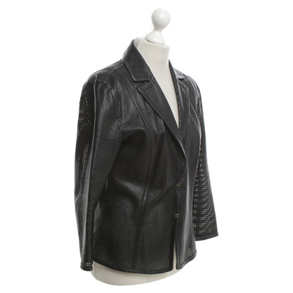 Marc Cain Jacket made of leather