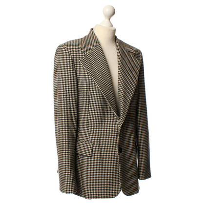 Ralph Lauren SZ Blazer, pied de poule, marrone. 14