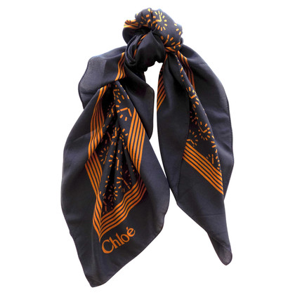 Chloé silk scarf