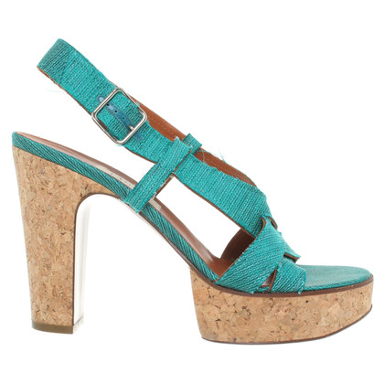 Lanvin Sandals in turquoise