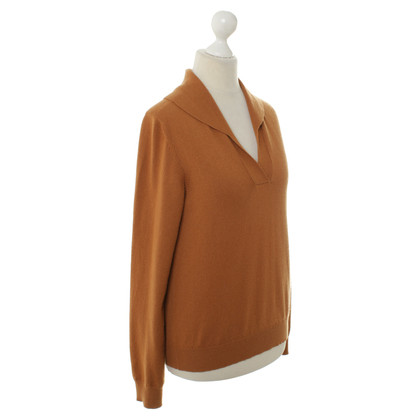 Jil Sander Cashmere sweater in ochre