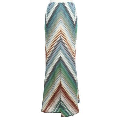 Missoni Longue jupe en multicolore