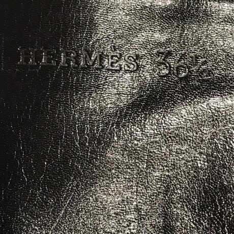 Hermès Lederstulpen in Schwarz Schwarz Kaufen Billig Großhandelspreis tfLyvwg