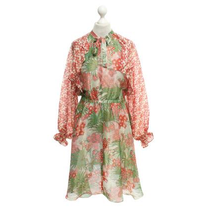 Manoush Kleid mit floralem Muster