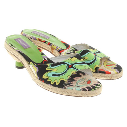 Emilio Pucci Sandals in Multicolor