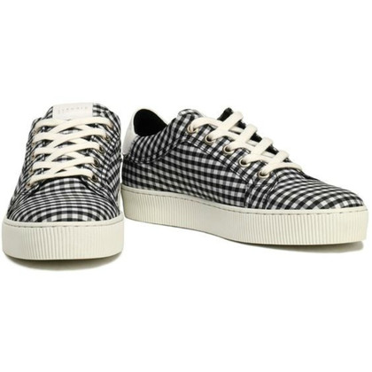 Claudie Pierlot Sneakers with Vichy pattern