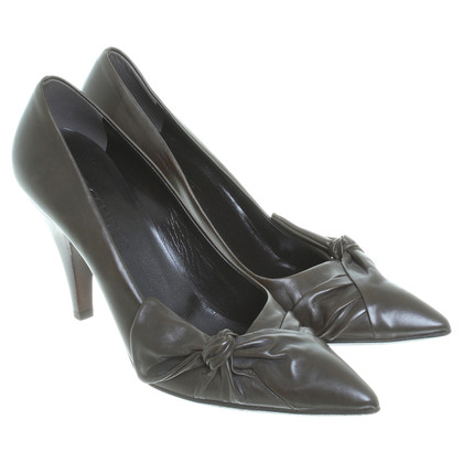 Jil Sander pumps in oliva