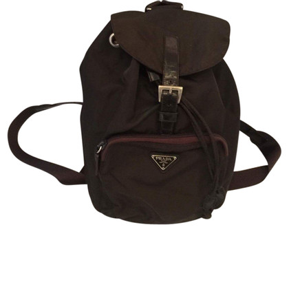 Prada Backpack in dark green