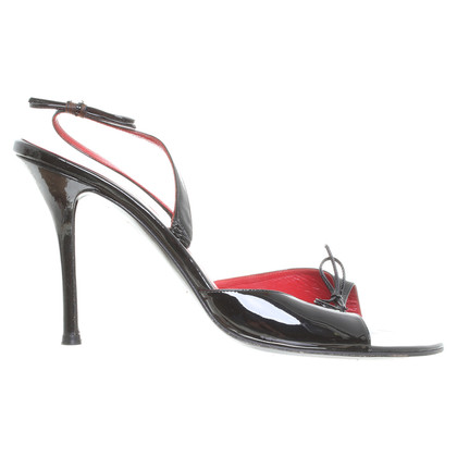 Céline Sandal in patent leather