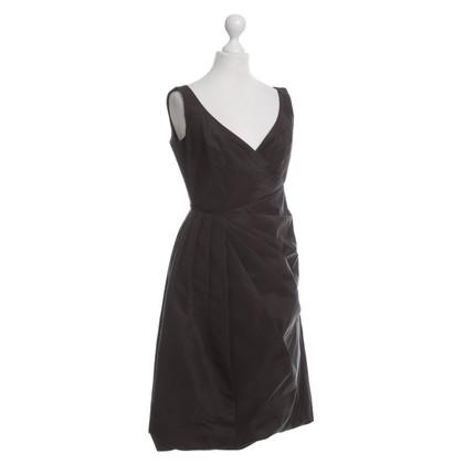 Prada Khaki dress with pleats