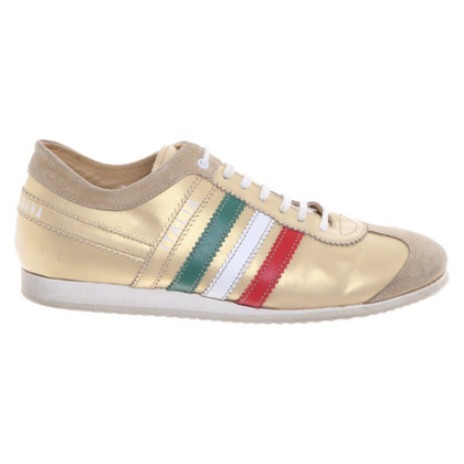 Dolce & Gabbana Gold colored sneakers
