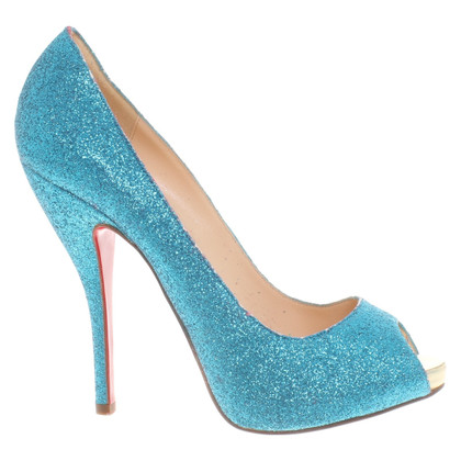 Christian Louboutin pumps met applicatie