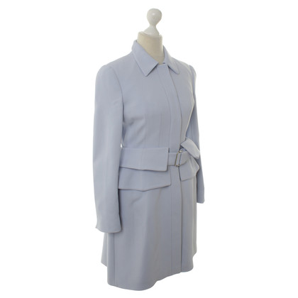 Alexander McQueen Coat in bright blue