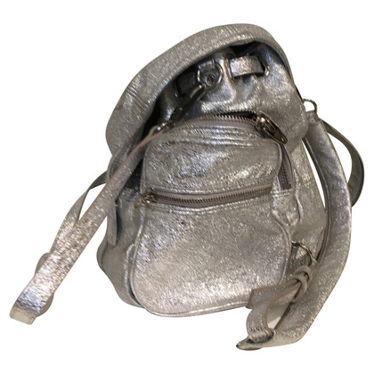 Alexander Wang Backpack silver metallic
