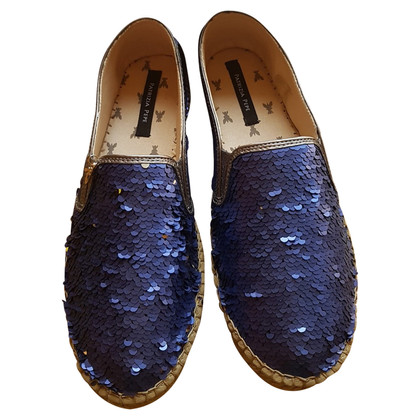 Patrizia Pepe Espadrilles with sequin trim