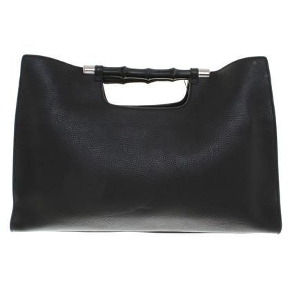 Gucci Borsa in pelle di colore nero