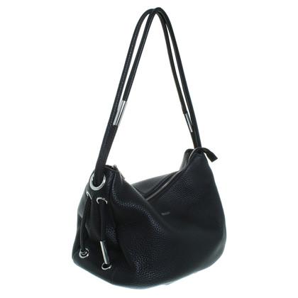 """DKNY """"Tribeca Soft Tumble Shoulder Bag""""in black"""