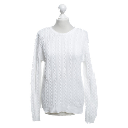 Ralph Lauren White cotton pullover