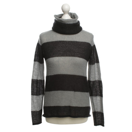 Lala Berlin Knit sweater in gray / black