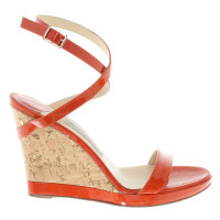 Jimmy Choo Sandals with decorative wedge heel