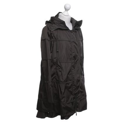 Moncler Raincoat in verde scuro