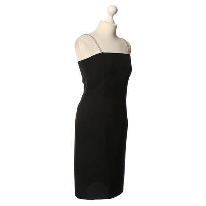 Piu & Piu Dress in black with flashy straps