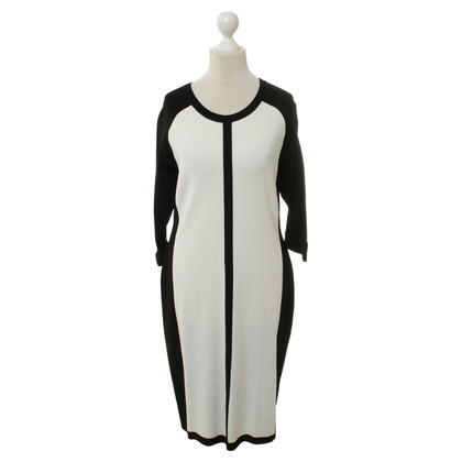 Vince Camuto Kleid in Schwarz-Weiß