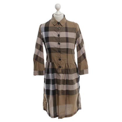 Burberry Kleid in Khaki