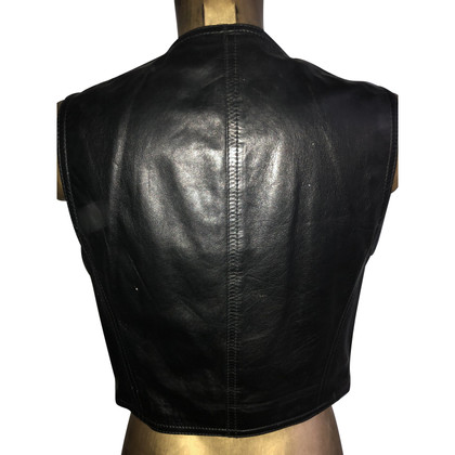 Gianni Versace leather vest
