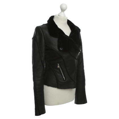 Jitrois Leather jacket in black