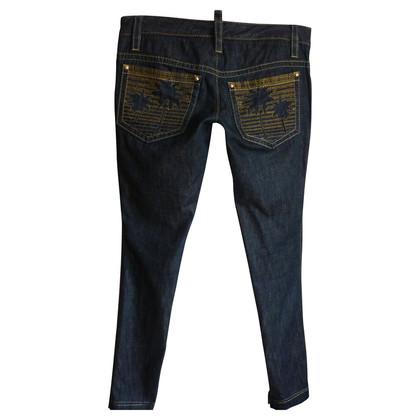 Dsquared2 Jeans met borduurwerk